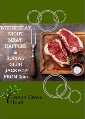 meat raffles & social club jackpot